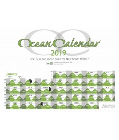 2019 Ocean Calendar Tide Chart for New South Wales