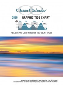 2020 Ocean Calendar Tide Chart for New South Wales